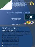 El Marco Metodológico. Exposición