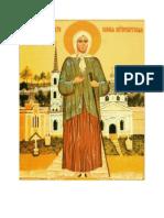 Acatistul Sfintei Xenia de Sankt Petersburg