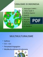 Multikulturalisme Di Indonesia