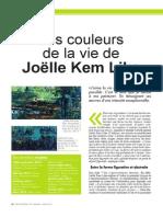 Les couleurs de la vie de Joëlle Kem Lika