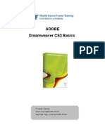 Dreamweaver Cs 3 Basics