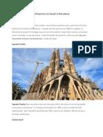 Art3. Arhitectura Lui Gaudi in Barcelona