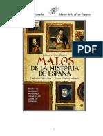 Cardona Gabriel Y Losada Juan Carlos - Malos de La Historia de España