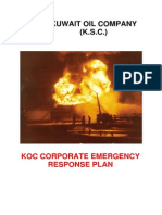 Koc.ge.026 - Koc Corporate Emergency Response Plan