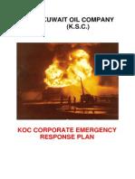 Koc.ge.026 - Koc Corporate Emergency Response Plan