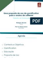 Uma proposta de uso de Gamification para o ensino de software (Apresentação)