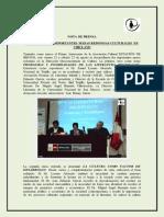 Nota de Prensa 3 - Estación de Brujos