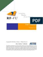 RF-vu - User's Manual