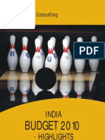 Budget 2010 Highlights India