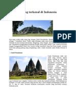10 Candi Yang Terkenal Di Indonesia