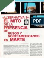 Alternativa 3 El Mito de La Presencia de Rusos y Norteamericanos en Marte R-006 Nº Extra - Mas Alla de La Ciencia - Vicufo2