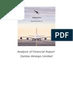 Analysis of Qantas Airways Financial Report