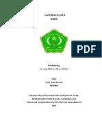 Presentasi Kasus Anak BBLR Indah