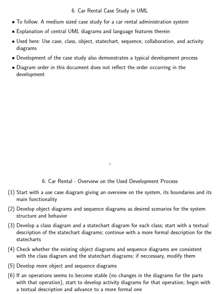 Car rental use case unified modeling language ccuart Images