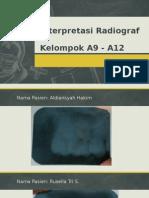 Interpretasi Radiograf