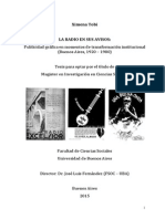 La radio en sus avisos. Publicidad gráfica en momentos de transformación institucional (Buenos Aires, 1920 - 1980)