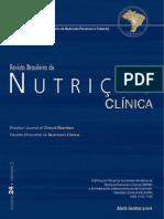 Nutrição clínica enteral e parenteral