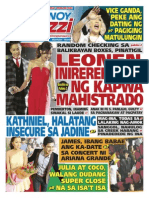 Pinoy Parazzi Vol 8 Issue 104 August 26 - 27, 2015