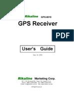 Gps 6010 Manual e