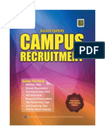 Campus Recruitment Sample Book
