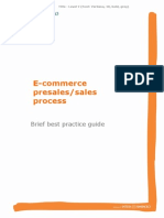 E-comm sales process brief mILAN .doc