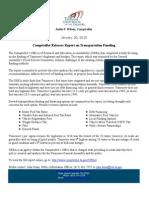OREA Transportation Funding 1-20-15