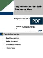 Implementación SAP Business One