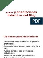 Uso Didactico Blog