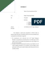 Informe de Las Charlas