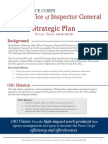Peace Corps IG FY 2016-18 OIG Strategic Plan