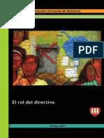 Rol del Directivo - Fe y Alegría (JABIT; Liliana; 2007)