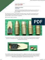 Amm 9mm AUPO Italian Self Propelled Semi-caseless