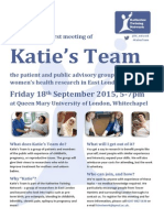 Katie's Team Flyer