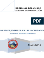 Proyecto de Reporblamiento de Trucha y Peces Amazonicos