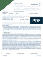 Solicitud de Seguro de Vida Integral General 31-08-2014