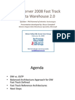 SQLServer 2008 Fast Track Data Warehouse