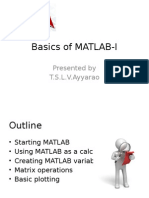 Basics of MATLAB-1