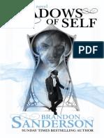 Shadows of Self by Brandon Sanderson- Prologue