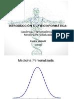 Charla Bioinformatica