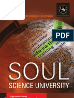 Soul Science University Brochure