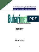 Buhari Performance Report