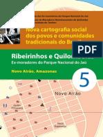 Ribeirinhos Quilombolas Novo Airao AM