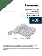 KX-TS560