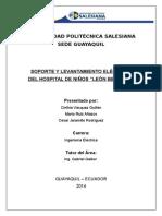 Anteproyecto de Extensiones Hospital León Becerra