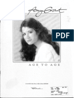 Amy Grant - Age to Age (Partituras)