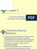 Consumer Markets and Consumer Buying Behavior
