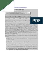 0200 Domain of Instructional Design