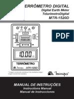Mtr 1520d 1102 Br Terrômetro Minipa