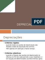 Depreciações