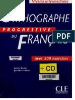 Orthographe Progressive Intermediare